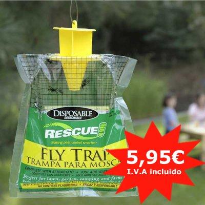 Oferta fly trap trampa para moscas tienda de equitaci n - Trampa casera para moscas ...
